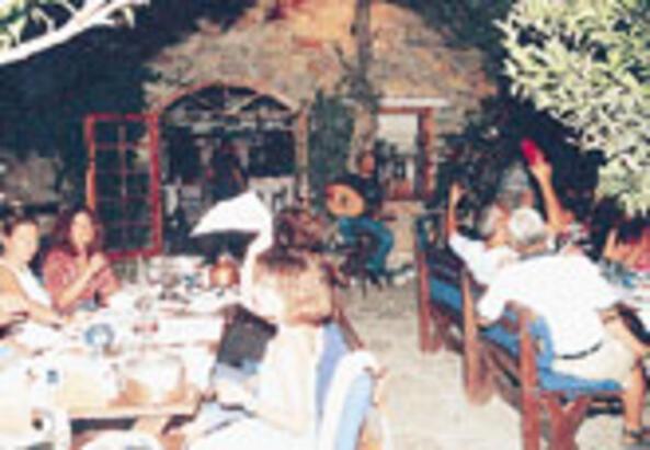 Bodrum'da rakı-balık