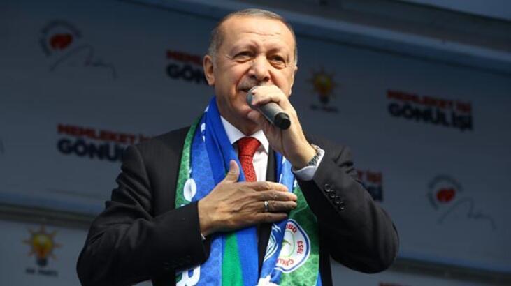 Cumhurbaşkanı Erdoğan, 'Size iki müjde vermek istiyorum' dedi ve peş peşe sıraladı