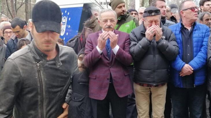 Erkan Can'ın ağabeyi son yolculuğuna uğurlandı