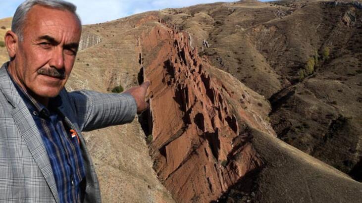 Efsanevi 'ejderha kayalıkları' ilgi çekiyor