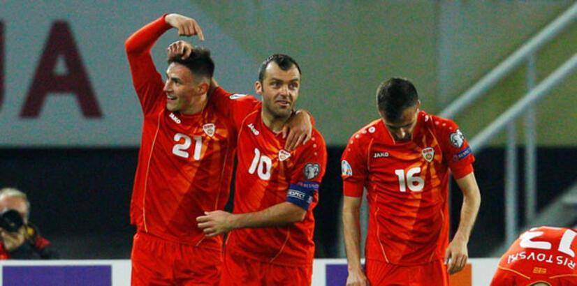 Eljif Elmas coştu, Kuzey Makedonya kazandı!