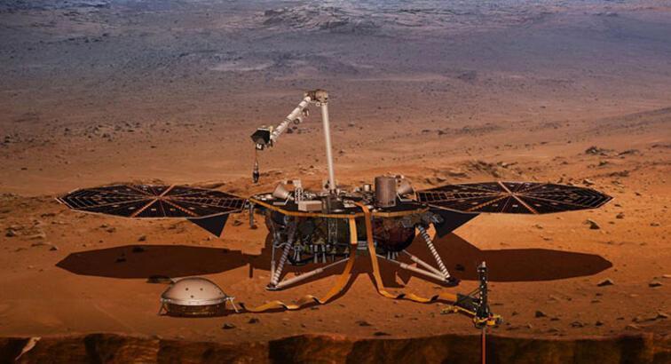 NASA, Insight uzay aracını Mars'a indirmeye hazırlanıyor