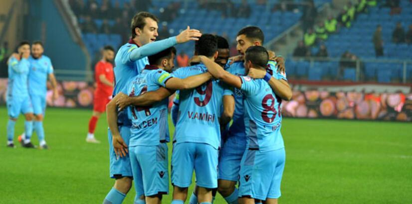 Trabzonspor evinde geçit vermiyor!