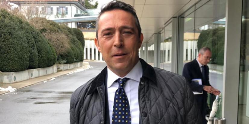 Fenerbahçe Başkanı Koç'tan UEFA açıklaması