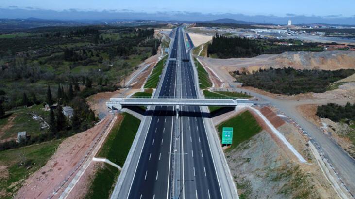 Kuzey Marmara Otoyolu, köprüleri birbirine bağladı