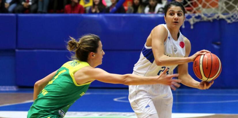 Hatay Büyükşehir Belediyespor: 56 - Sopron Basket: 66