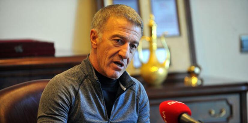 Trabzonspor Başkanı Ahmet Ağaoğlu'ndan UEFA açıklaması
