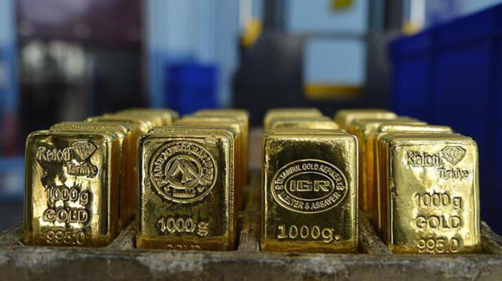 Altının kilogramı 221 bin 500 liraya geriledi