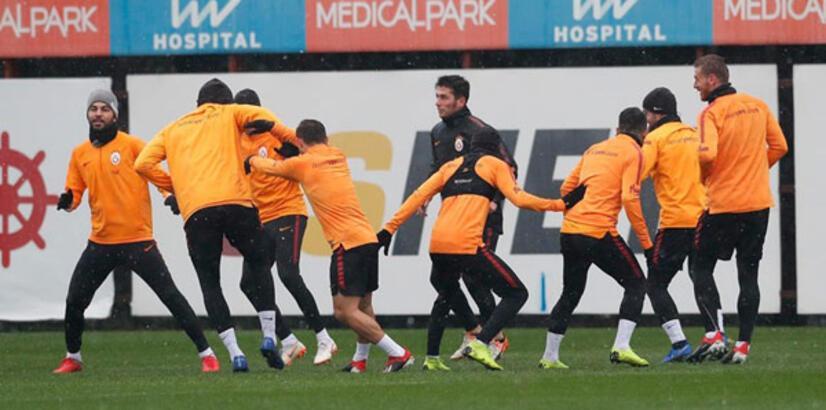 Galatasaray'da Başakşehir maçı hazırlıkları sürüyor