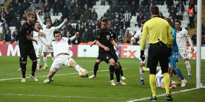 Beşiktaş - Malmö: 0-1 (İşte maçın özeti)