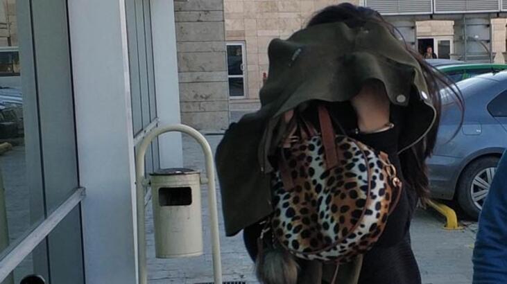 Kuyumcudan altın çalan genç kadın yakalandı