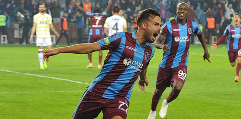 Trabzonspor - Fenerbahçe: 2-1 (İşte maçın özeti)