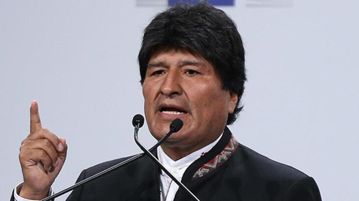 Morales'den yabancı askeri müdahaleyi reddetmeyen Guiado'ya tepki