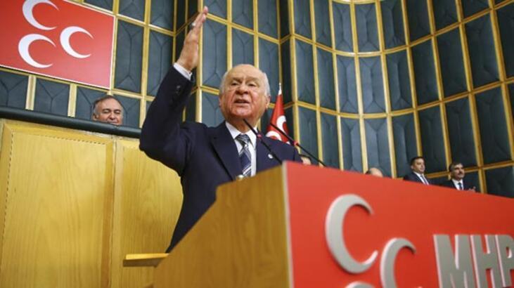 MHP lideri Devlet Bahçeli'den Fırat'ın doğusuyla ilgili açıklama