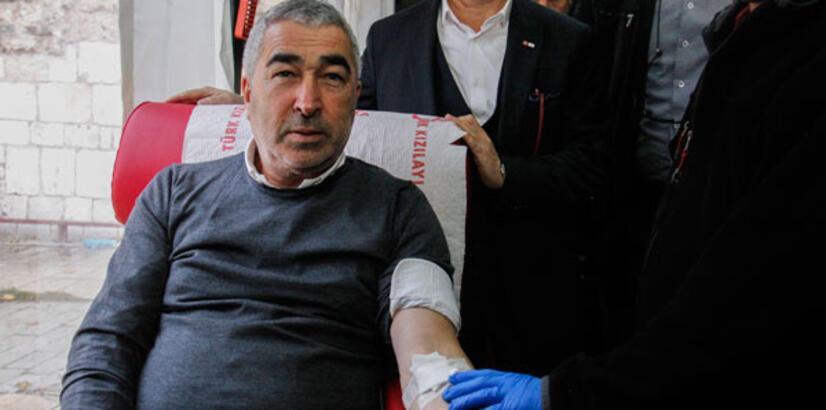 Bursaspor'dan kan bağışı