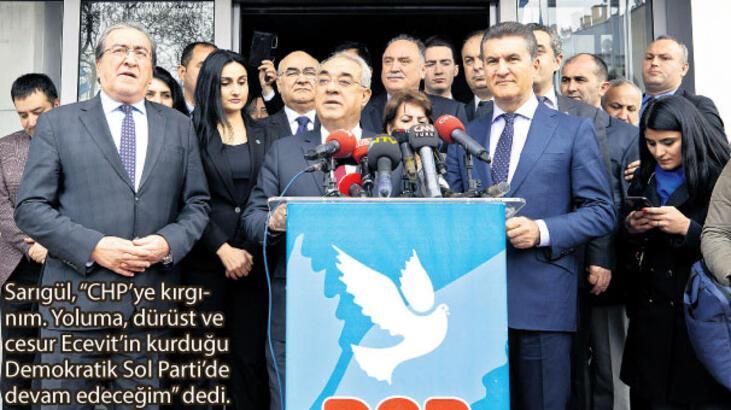 DSP genel merkezini ziyaret eden Mustafa Sarıgül: Yuvamda olmaktan mutluyum
