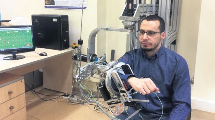 Uygun egzersizi robot belirliyor