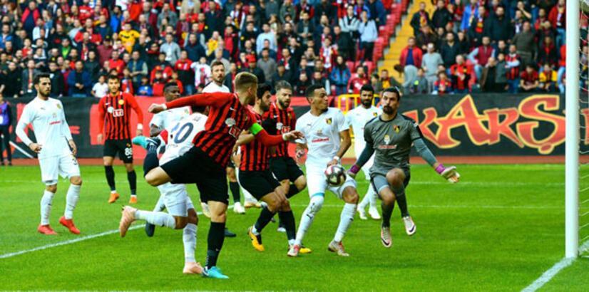 Eskişehirspor - İstanbulspor: 1-0