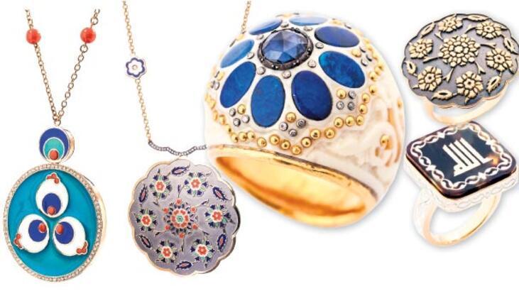 Mücevhere sanatsal dokunuş