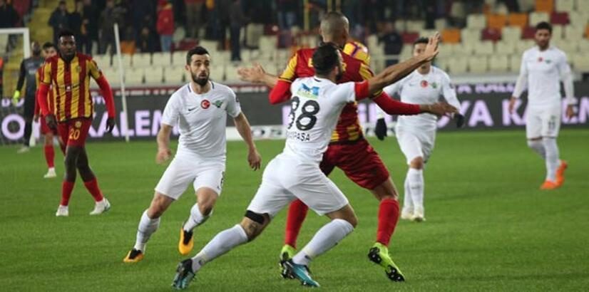 Evkur Yeni Malatyaspor - Akhisarspor: 1-1