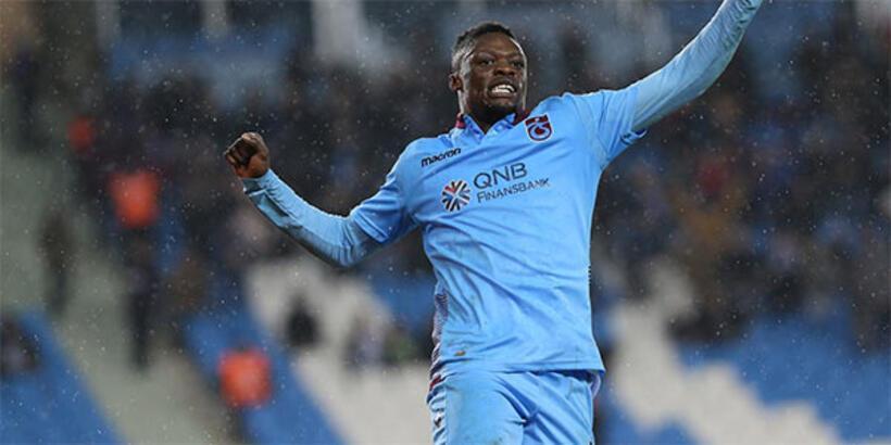 Ekuban, Trabzonspor'da yeniden doğdu