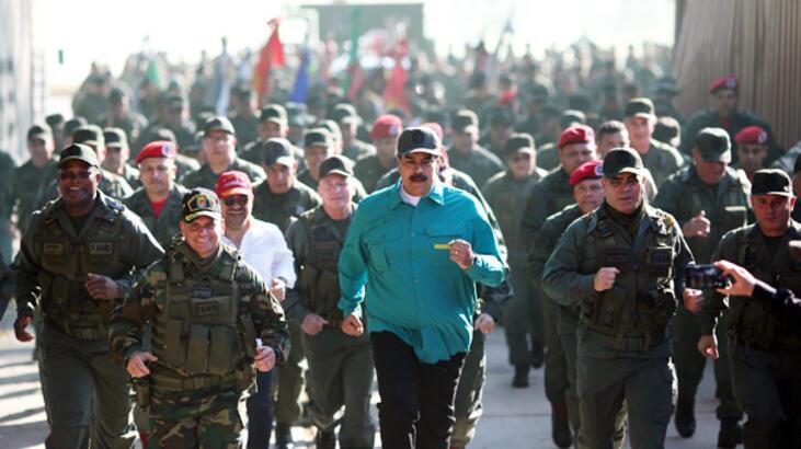 ABD çemberi daraltıyor, Maduro direniyor