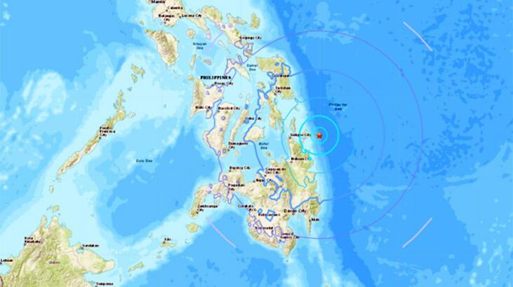 Son dakika... Filipinler'de deprem!