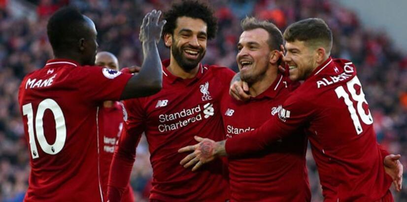 Salah coştu, Liverpool farklı kazandı!