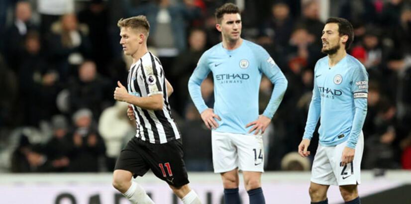 Manchester City'ye derin darbe: 1-2
