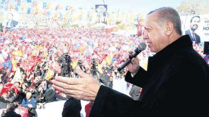 Cumhurbaşkanı Erdoğan'dan ABD'ye: Mesele S-400 değil Suriye