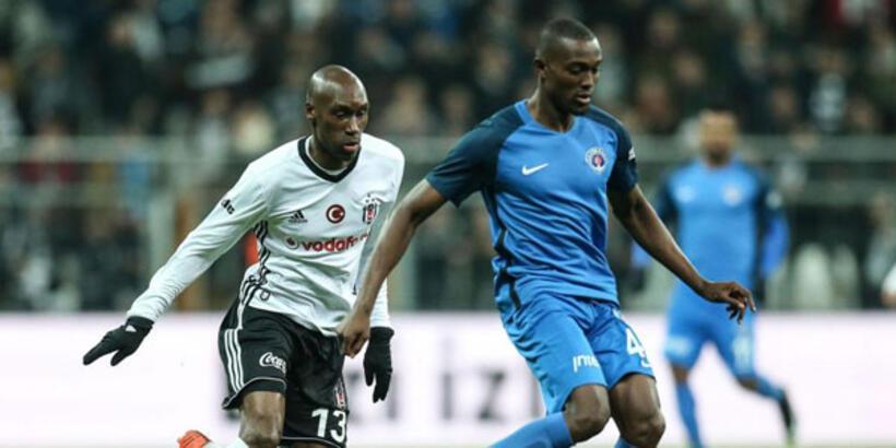 Beşiktaş ilk yarıyı Kasımpaşa'da kapatıyor