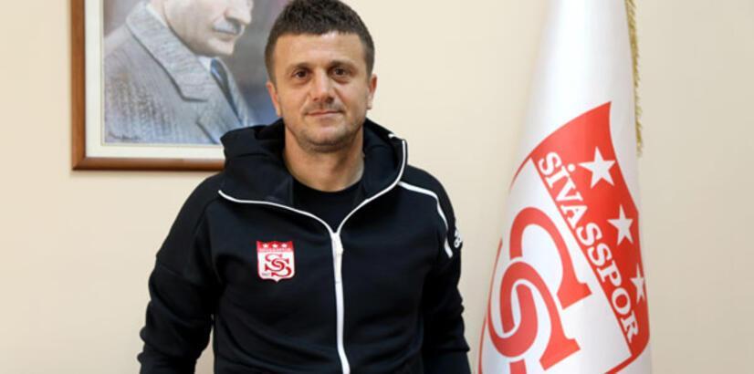 Sivasspor'da Hakan Keleş'in ilk yarı hedefi 23 puan