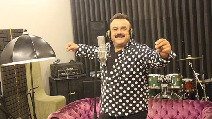 Bülent Serttaş, 'Çakallarla Dans 5' için stüdyoya girdi