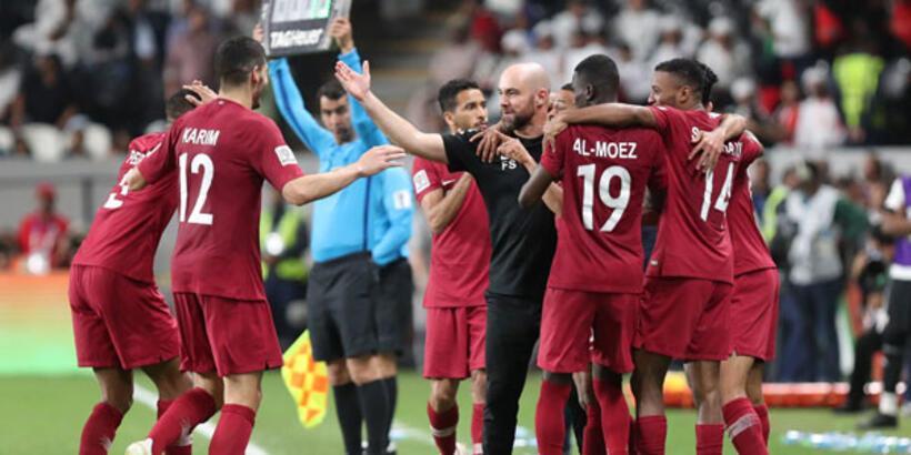 Katar, Birleşik Arap Emirlikleri'ni yenerek finale çıktı
