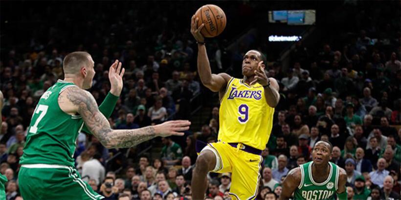 Los Angeles Lakers, 'Rondo'yla kazandı!