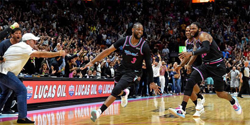 Miami Heat'ten Golden State'e son saniye şoku