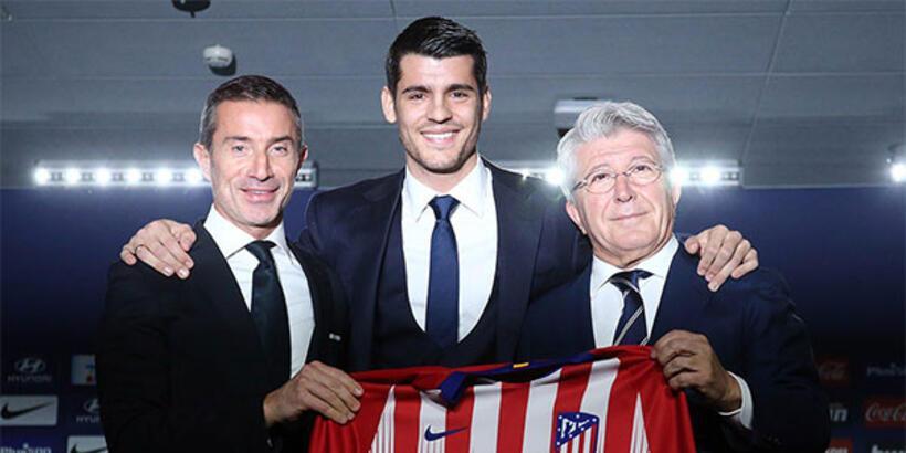 Atletico Madrid, Morata'yı tanıttı!