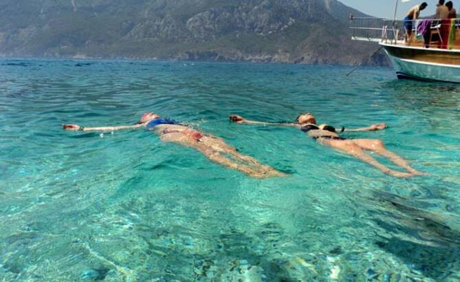 Antalya'ya 12.5 milyon turist