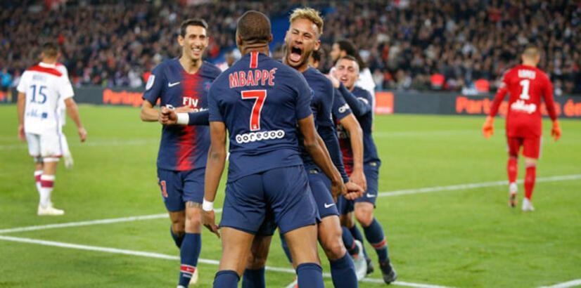 Paris Saint-Germain - Olympique Lyon: 5-0