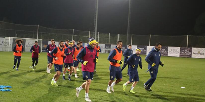 Fenerbahçe'de Göztepe maçı hazırlıkları başladı