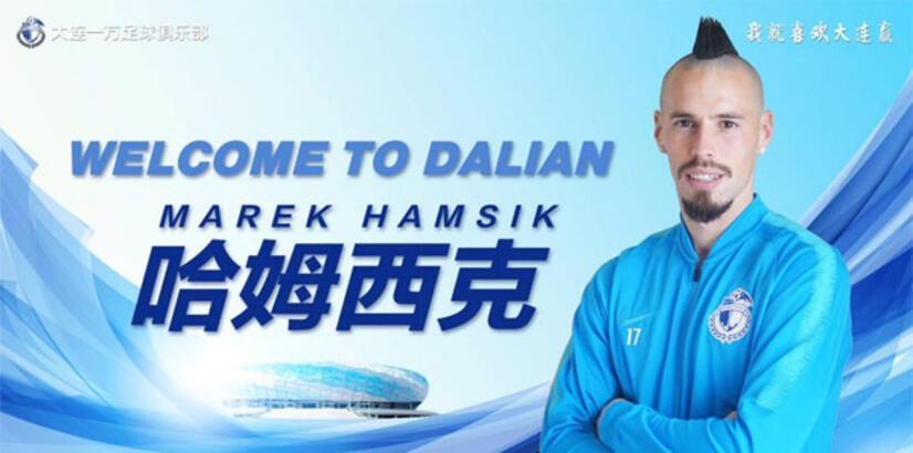 Marek Hamsik, Dalian Yifang'a transfer oldu!