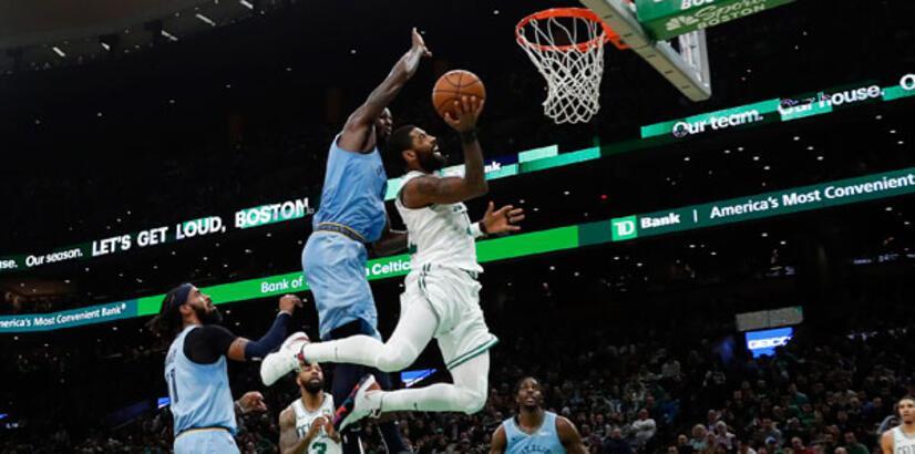 Irving coştu, Boston kazandı