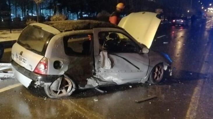 Bolu'da zincirleme kaza: 1 kişi hayatını kaybetti