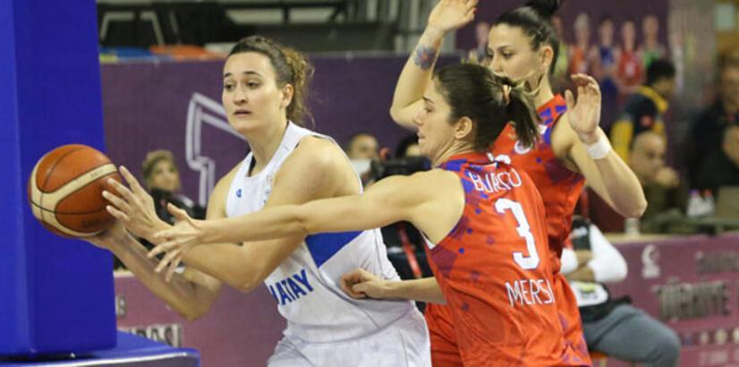 Mersin Büyükşehir Belediyespor yarı finalde!