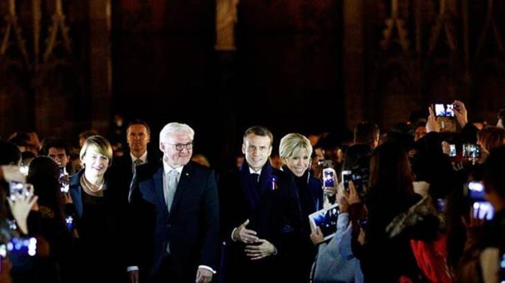 Macron 7 gün sürecek 'Ateşkes Günü turuna' Strazburg'dan başladı