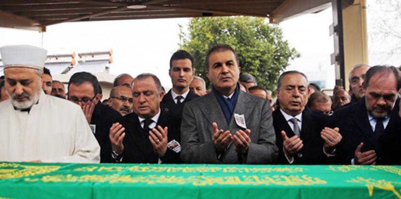 Fatih Terim'den baba Talat Terim'e son görev! Yalnız bırakmadılar...
