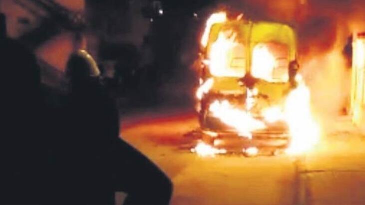 Öfkeli sevgili araç yaktı, PKK 'Biz yaptık' dedi!