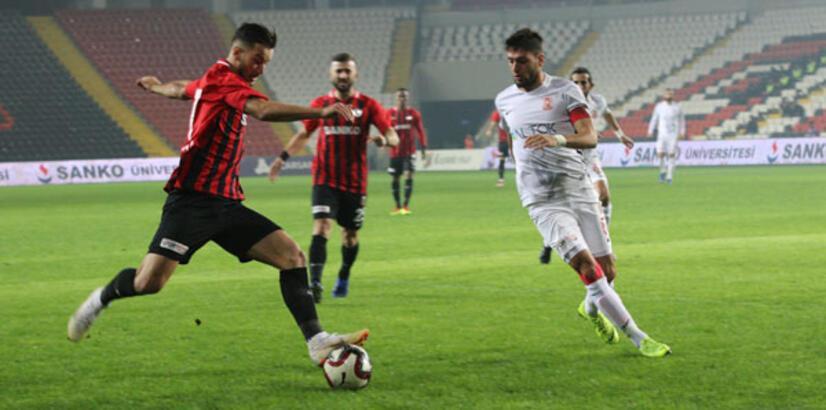 Gazişehir Gaziantep - Balıkesirspor Baltok: 0-2