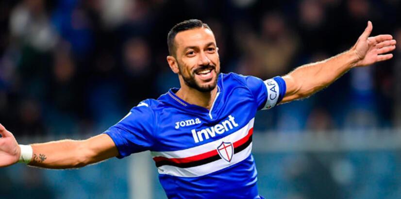 Quagliarella, Batistuta'nın rekorunu egale etti