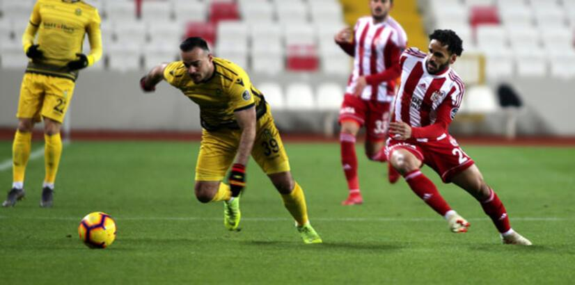 Sivasspor - Yeni Malatyaspor: 2-0